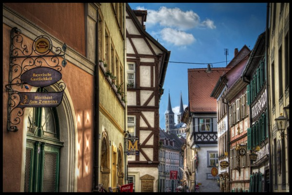 Alley in Bamberg