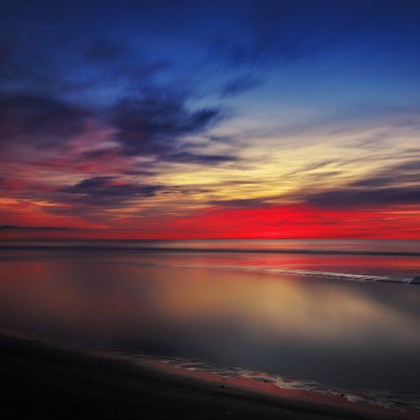 Norlev strand - after sunset