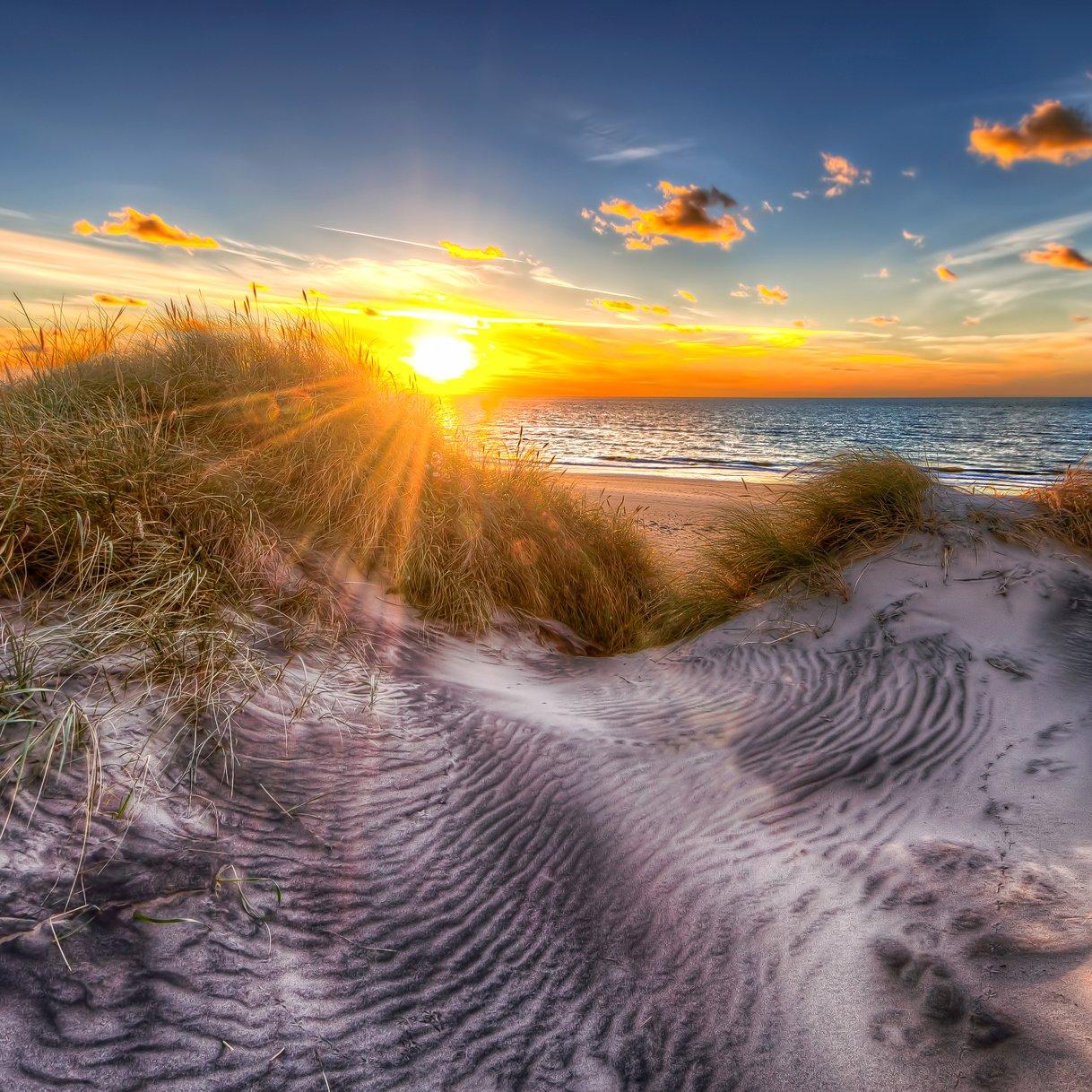 norlev strand sunset 2013