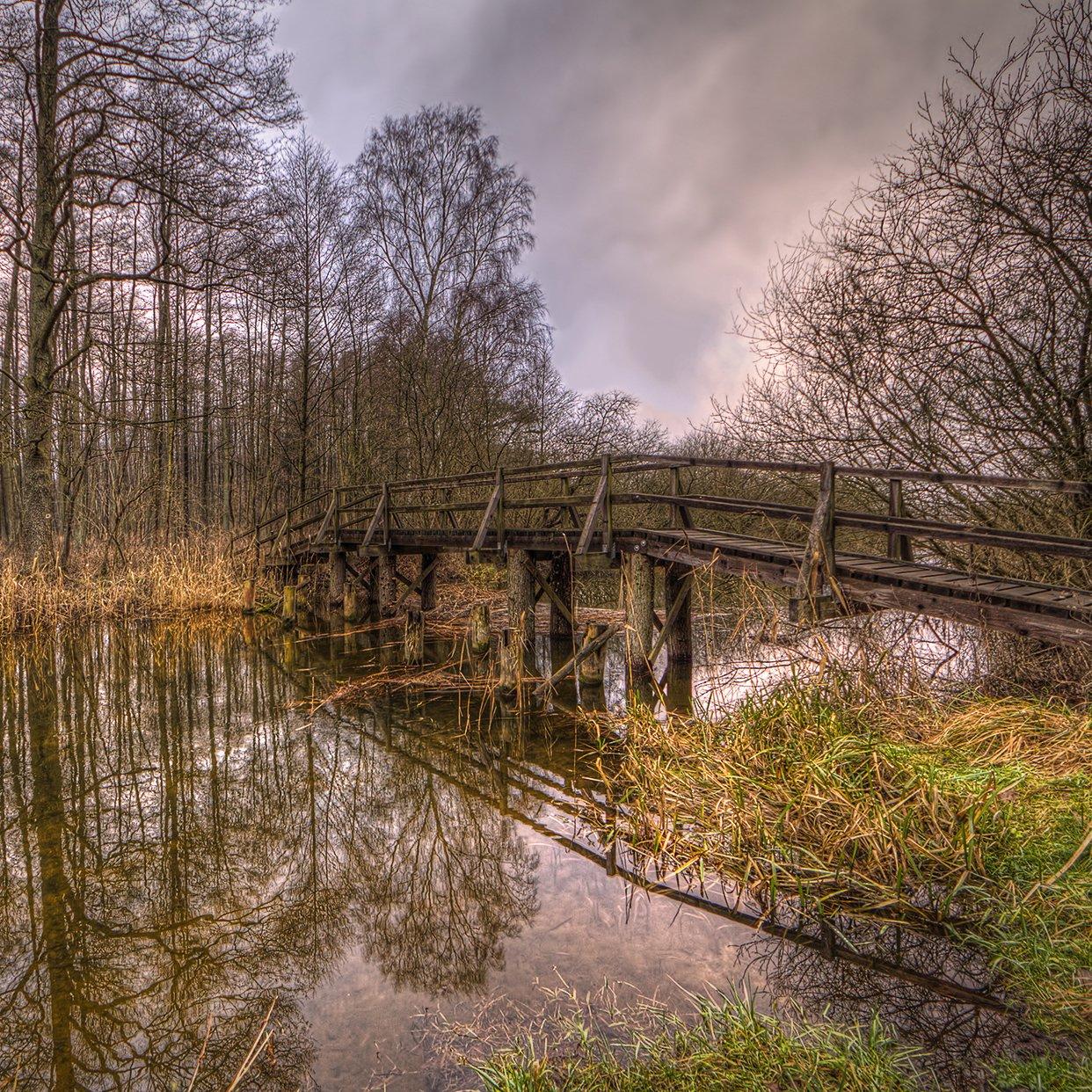 bridge near Neuklostersee