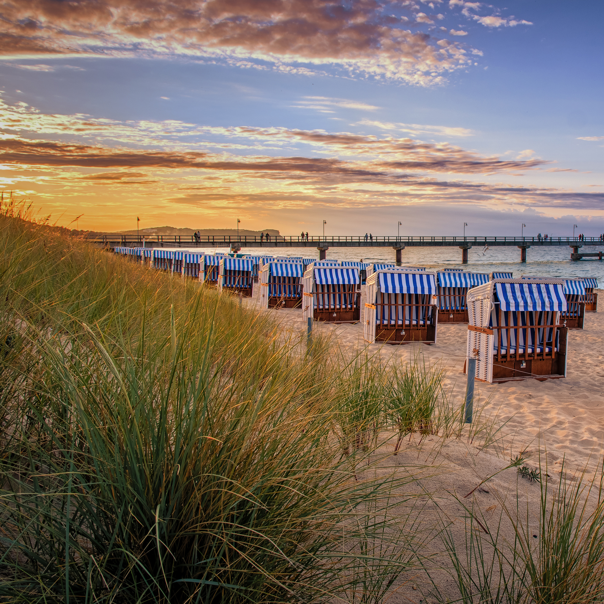 Rügen – Göhren Nordstrand Sunset