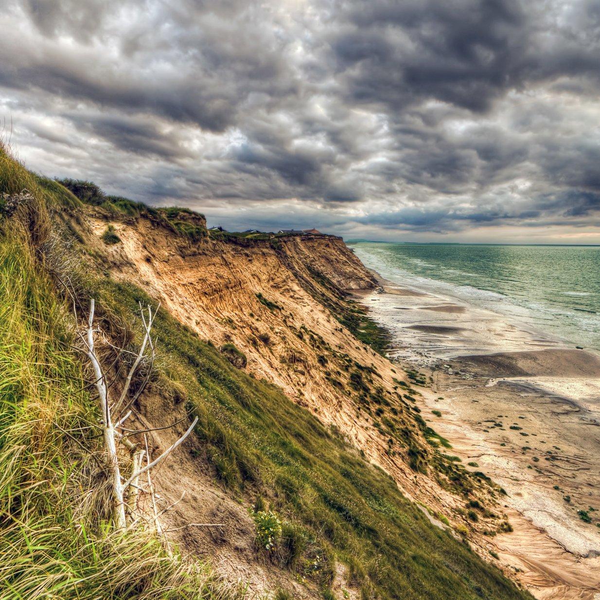 Lønstrup coast01, Denmark