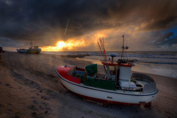 Lønstrup boat