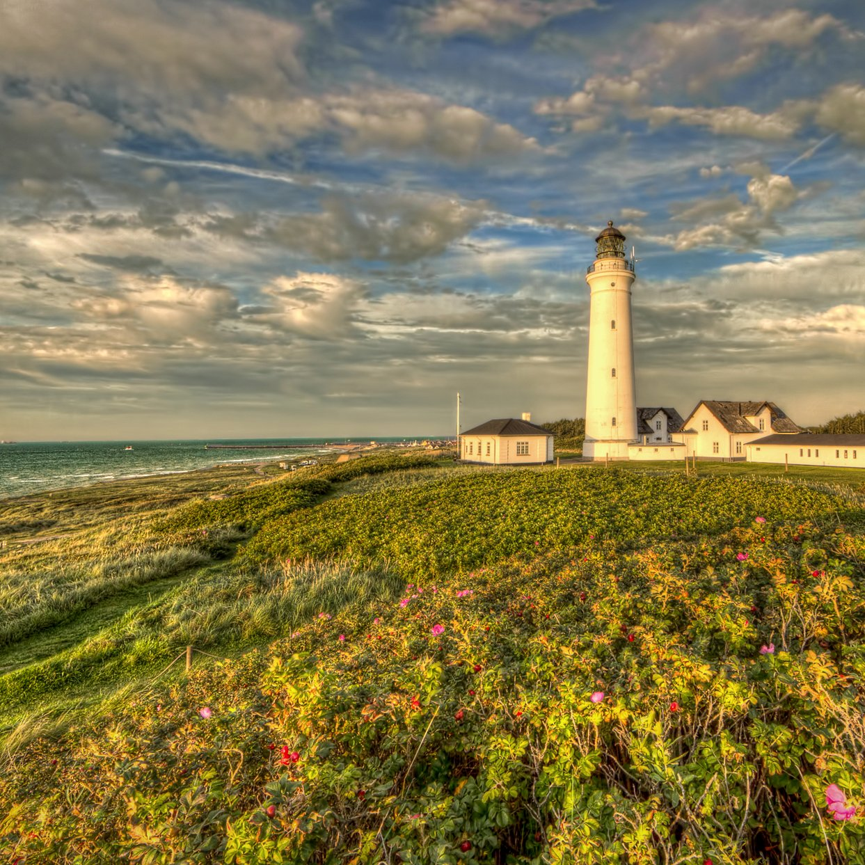 Hirtshals Lighthouse coast